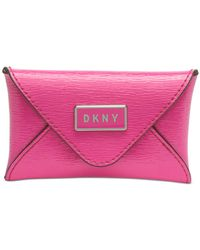DKNY - Gigi Leather Envelope Card Case, Created For Macy's - Lyst