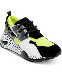 6207d7a2e28 Steve Madden - Cliff Sneaker (animal Multi) Women s Shoes - Lyst