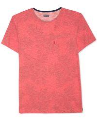 Levi's - Heathered Leaf-print T-shirt - Lyst