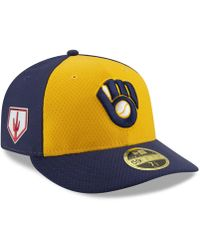 1c5ffbf0cda986 KTZ Washington Nationals Spring Training Pro Light Low Profile 59fifty  Fitted Cap in White for Men - Lyst
