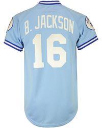 1fa0ce7db38 Mitchell   Ness - Bo Jackson Kansas City Royals Authentic Jersey - Lyst
