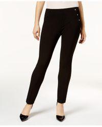 Nine West - Embellished Skinny Pants - Lyst