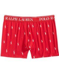 Polo Ralph Lauren - Stretch Jersey Knit Boxer Briefs - Lyst