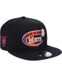 cheap for discount 2f43c 6331c KTZ New York Mets Cap in Black for Men - Lyst