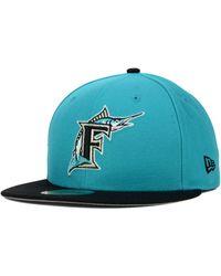 finest selection da956 dc1d6 KTZ Texas Rangers Mlb Cooperstown 59Fifty Cap in Blue for Men - Lyst