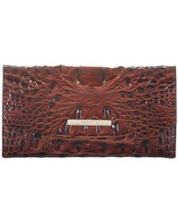 Brahmin Modern Melbourne Embossed Leather Checkbook - Multicolor