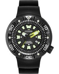 Citizen - Men's Eco-drive Black Strap Watch 48mm Bn0175-19e - Lyst