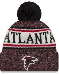 52902b905d3 Lyst - KTZ Atlanta Falcons Salute To Service Pom Knit Hat in Green