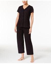 Charter Club - Scroll-print Pajama Set - Lyst