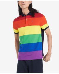 Tommy Hilfiger Custom-fit Pride Polo