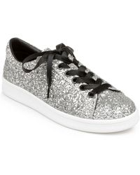 Rampage Holly Lace Up Sneakers - Metallic