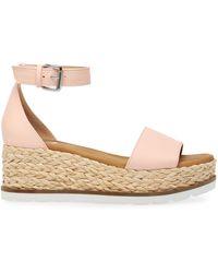 DV by Dolce Vita Baker Flatform Treaded Sandals - Pink