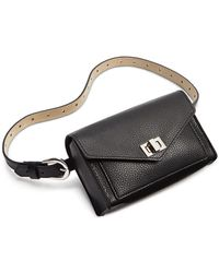 Steve Madden Faux-leather Turn-lock Convertible Belt Bag - Multicolor
