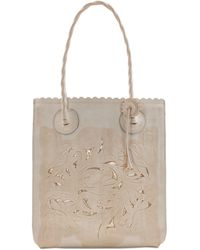 Patricia Nash - Cavo Waxed Leather Tote - Lyst