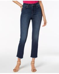 Style & Co. - Petite Frayed Cropped Jeans, Created For Macy's - Lyst