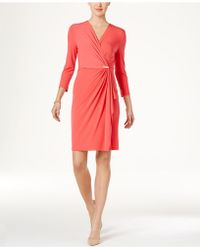 Charter Club - Faux-wrap Dress - Lyst