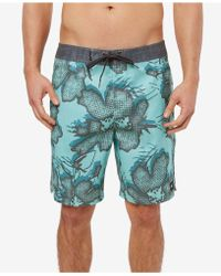 c220511cc6 DC Shoes Lanai 22 Board Shorts in Green for Men - Lyst