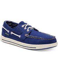 Eastland Adventure Mlb Los Angeles Dodgers Boat Shoes - Blue