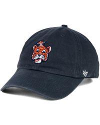 47 Brand Auburn Tigers Clean Up Cap - Blue