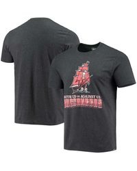 47 Brand Black Tampa Bay Buccaneers Regional Club Ship T-shirt