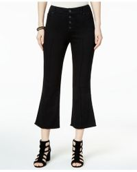 INC International Concepts - I.n.c. Cropped Flared Jeans, Created For Macy's - Lyst