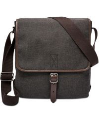 Fossil - Haskell City Bag - Lyst