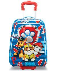 "American Tourister Paw Patrol 18"" Hardside Wheeled Suitcase - Blue"