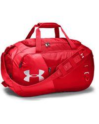 Under Armour Undeniable Duffel 4.0 Medium Duffle Bag - Red
