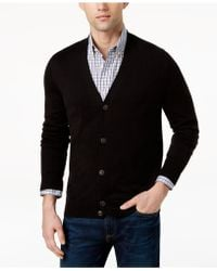 Tommy Hilfiger - Signature Solid Cardigan, Created For Macy's - Lyst