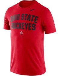 Nike - Ohio State Buckeyes Dri-fit Local Verbiage T-shirt - Lyst