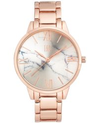 INC International Concepts - Rose Gold-tone Bracelet Watch 38mm, Created For Macy's - Lyst