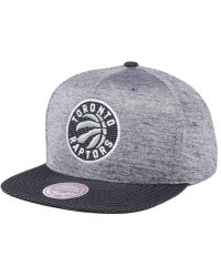 Mitchell & Ness - Space Knit Snapback Cap - Lyst