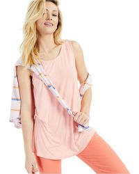 Style & Co. Swing Tank Top, Created For Macy's - Pink