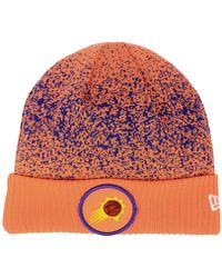 0d49c36fb3ea6 Lyst - Ktz On Court Collection Cuff Knit Hat in Red for Men