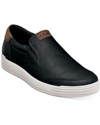 Nunn Bush Kore City Walk Slip-on Sneaker - Black