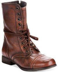 Steve Madden Troopa Boots - Brown