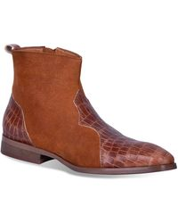 Dingo Dunn Side Zip Boot - Brown