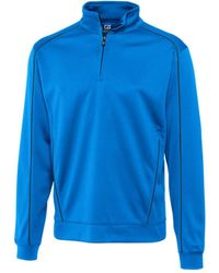 Cutter & Buck - Big & Tall Drytec Edge Half Zip Sweatshirt - Lyst
