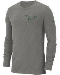 8f3329087 Nike - Philadelphia Eagles Heavyweight Seal Long Sleeve T-shirt - Lyst
