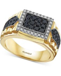 Effy Diamond Cluster Ring (1 Ct. T.w.) In 14k Gold & White Gold - Metallic