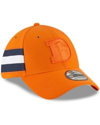 best cheap 8a02b a8f81 KTZ - Denver Broncos Official Color Rush 39thirty Stretch Fitted Cap - Lyst