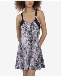 Linea Donatella New Snow Leopard Chemise - Black