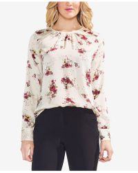 Vince Camuto - Floral-print Top - Lyst