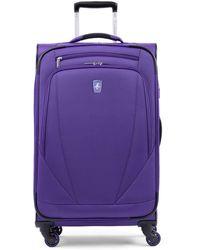 "Atlantic ® Infinity® Lite 4 25"" Expandable Spinner Suitcase - Purple"