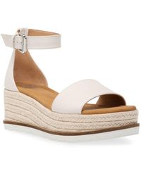 DV by Dolce Vita Baker Flatform Treaded Sandals - White