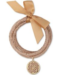 Guess 3-pc. Set Crystal Bangle Bracelets - Multicolor