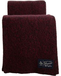 Original Penguin - Two Tone Knit Scarf - Lyst