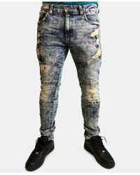 Heritage America - Slim-fit Distressed Jeans - Lyst