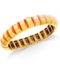 Kate Spade - Gold-tone Stretch Bracelet - Lyst