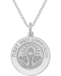 adb19816be7fa6 Macy's - First Communion Medallion 18